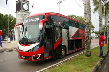 Coach from Mersing to Singapore
