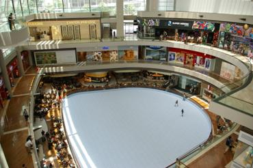 Marina Bay Sands ice rink